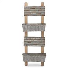 Rosie Metal Planters on Ladder
