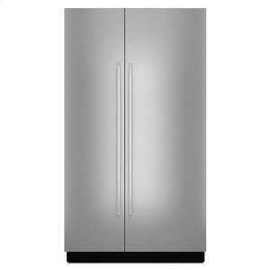 "JennairJenn-Air® Euro-Style 48"" Fully Integrated Built-In Side-by-Side Panel-Kit - Stainless Steel"