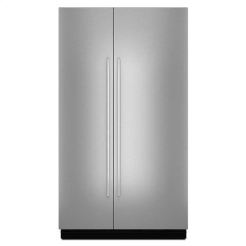 """JennAir® Euro-Style 48"""" Fully Integrated Built-In Side-by-Side Panel-Kit - Stainless Steel"""