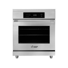 "30"" Heritage Induction Pro Range, Silver Stainless Steel"