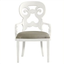 Retreat - Wayfarer Arm Chair In Saltbox White