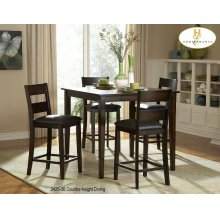 5-Piece Pack Counter-height Set