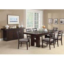 Dabny Casual Cappuccino Five-piece Dining Set