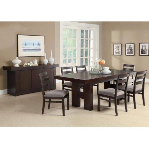 Dabny Casual Cappuccino Five-piece Dining Set