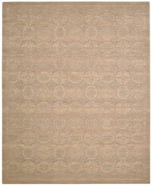 Silken Allure Slk25 Beige Rectangle Rug 5'6'' X 8'