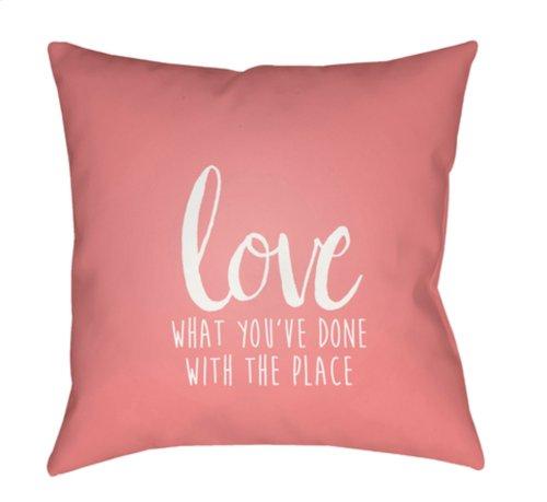 """Love The Place QTE-051 20"""" x 20"""""""