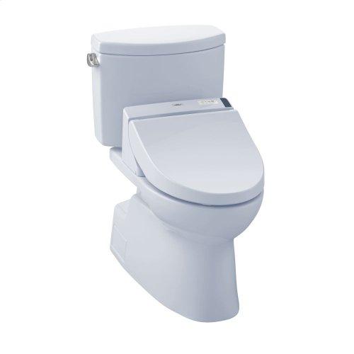 Vespin® II WASHLET®+ C200 Two-Piece Toilet - 1.28 GPF - Cotton