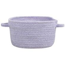 Lt. Purple Chenille Creations Basket