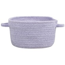 Lt. Purple Chenille Creations Basket
