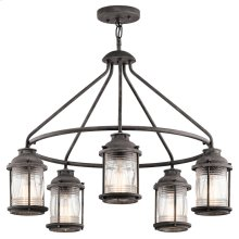 Ashland Bay Ashland Bay 5 Light Outdoor Chandelier in WZC