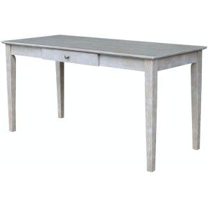 JOHN THOMAS FURNITUREWriting Table w/ Drawer in Taupe Gray