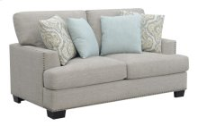 Loveseat W/4 Pillows-gray #sequoia Driftwood