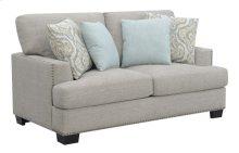 Loveseat W/4 Pillows-gray #sequoia Driftwood