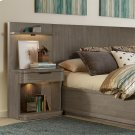 Precision - Low Pier Nightstand - Gray Wash Finish Product Image