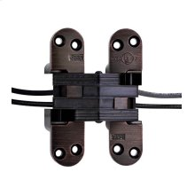 Model 218PT Power Transfer Invisible Hinge Oil Rubbed Bronze Lacquered