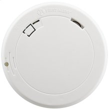 10-Year Battery Photoelectric Smoke Alarm, Slim Profile with Escape Light
