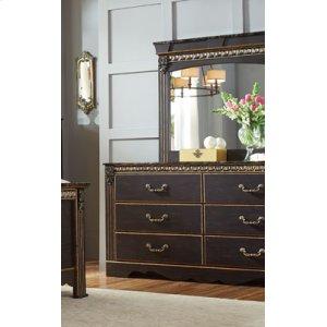 3-drawer Nightstand