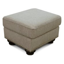 Pearson Ottoman with Nails 8Y07N
