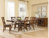 Trestle Table, W/2-13 In. Leafs