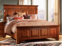 E King Mantel Bed