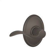 Accent Lever with Wakefield trim Hall & Closet Lock - Oil Rubbed Bronze