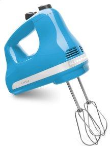 5-Speed Ultra Power Hand Mixer - Crystal Blue