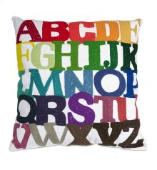 Rainbow ABC Pillow