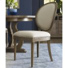Artisanal Oval Back Side Chair Product Image