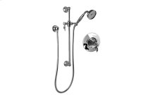 Full Pressure Balancing System - Shower w/Slide Bar & Handshower (Rough & Trim)