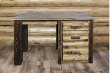 Homestead Offic Desk - Stained and Lacquered