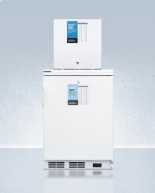 Ff7lpro Auto Defrost All-refrigerator With Digital Controls and Compact Manual Defrost Fs24lpro All-freezer With Stacking Rack, Both With Factory-installed Probe Holes