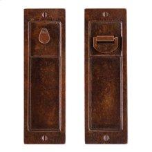Pocket Door Lock - FP308 Silicon Bronze Brushed