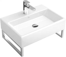 """Washbasin 20"""" Angular - Glossy Black Ceramicplus"""
