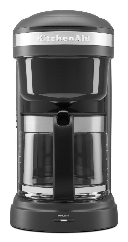 KCM1208DGKitchenaid 12 Cup Drip Coffee Maker with Spiral Showerhead ...