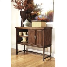 Dining Room Server Riggerton - Burnished Brown Collection Ashley at Aztec Distribution Center Houston Texas