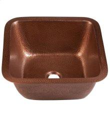 Antique Copper Picasso Bar/Prep Sink