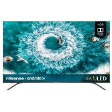 "55"" Class - H8 Series - 4K ULED Hisense Android Smart TV (54.5"" diag)"