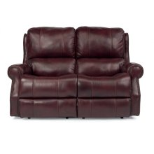 Miles Leather Power Reclining Loveseat