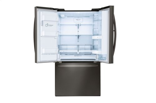 LG Black Stainless Steel Series 28 cu.ft. Capacity 3-Door Refrigerator with Door-in-Door®