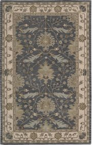 """INDIA HOUSE IH75 BL RECTANGLE RUG Available in Sizes: 2'.3""""X 7'.6"""",  2'.6""""X 4'.0"""",  3'.6""""X 5'.6"""",  5'.0""""X 8'.0"""",  8'.0""""X 10'.6"""" Product Image"""
