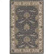 "INDIA HOUSE IH75 BL RECTANGLE RUG Available in Sizes: 2'.3""X 7'.6"",  2'.6""X 4'.0"",  3'.6""X 5'.6"",  5'.0""X 8'.0"",  8'.0""X 10'.6"" Product Image"