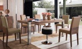Walnut veneer Table
