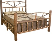 H453 Hickory Queen Bed