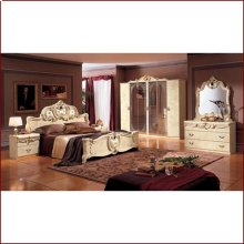 BAROCCO IVORY BEDROOM SET