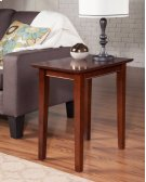 Shaker Chair Side Table Walnut Product Image