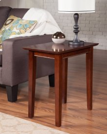Shaker Chair Side Table Walnut