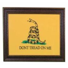 "Small "" Dont Tread on Me"" Flag W/Matt"