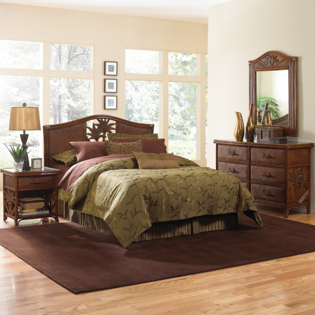 Havana Palm 4 PC Twin Bedroom Set