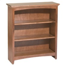 """GAC 36""""H x 30""""W McKenzie Alder Bookcase"""
