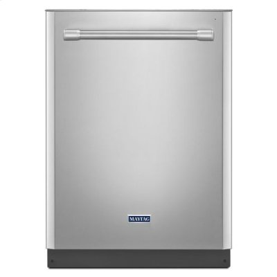 Maytag® Quiet Large Capacity Dishwasher with PowerDry Option - Fingerprint Resistant Stainless Steel Product Image
